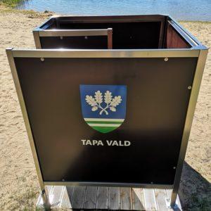 Porkuni järv Tapa vald (RANNAKABIINID)